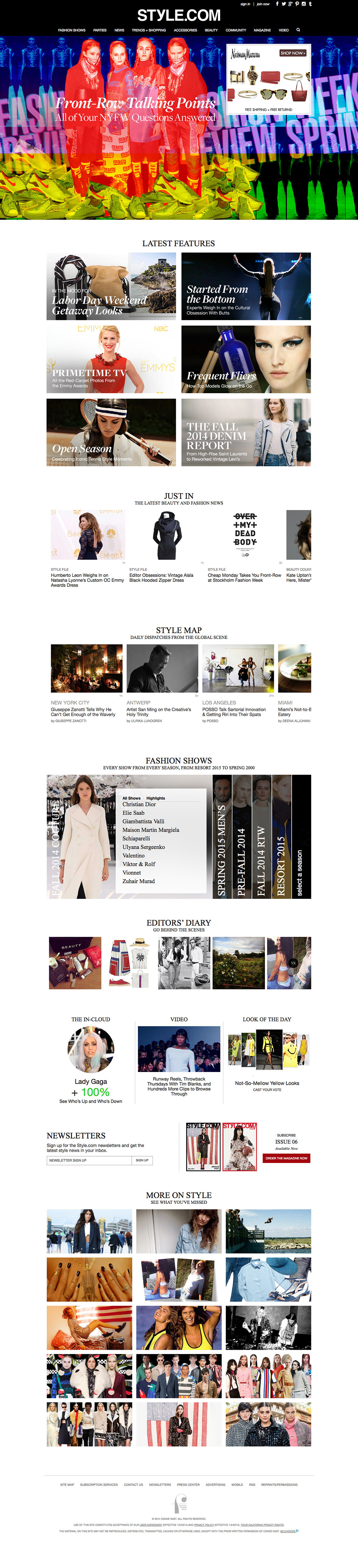 style-homepage-web