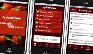 Epicurious iPhone App
