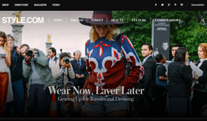 Style.com Redesign